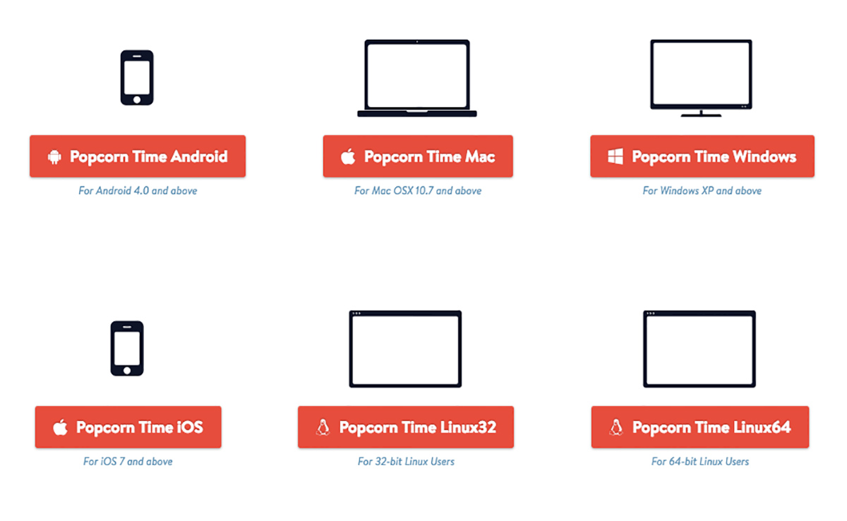Watching Popcorn time never been so secure and easy like now with